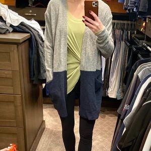 NWT madewell Kent colorblock cardigan sweater